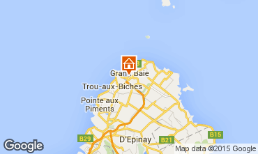 Karte Grand Baie Appartement 90950
