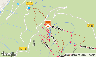 Karte Les Arcs Appartement 93583