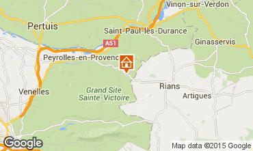 Karte Aix en Provence Haus 93999