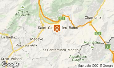 Karte Megève Chalet 16662