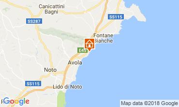 Karte Avola Villa 16981