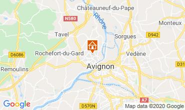 Karte Avignon Villa 109138