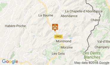 Karte Morzine Chalet 101488