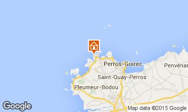 Karte Perros-Guirec Appartement 39001
