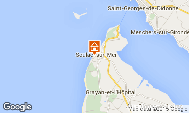Karte Soulac Villa 6750