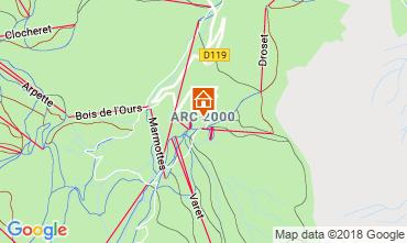 Karte Les Arcs Appartement 173