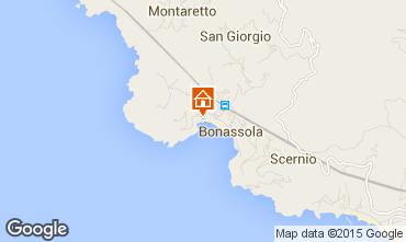 Karte Bonassola Appartement 84222