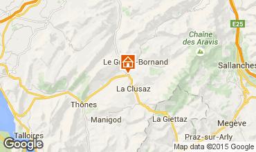 Karte La Clusaz Chalet 854