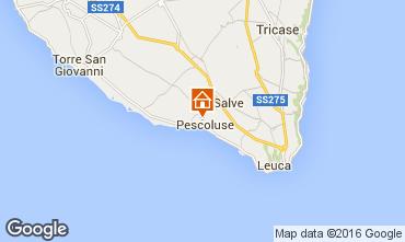 Karte Pescoluse Außergewöhnliche Unterkunft 103154