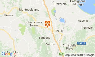 Karte Chianciano Terme Villa 111227