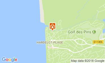 Karte Hardelot Villa 114204