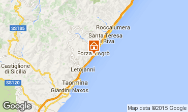 Karte Taormina Appartement 23128