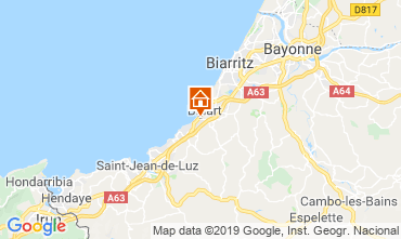 Karte Biarritz Haus 6366