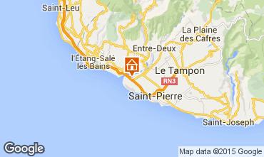Karte Saint Pierre (R�union) Villa 98925