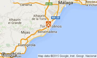 Karte Torremolinos Studio 98004