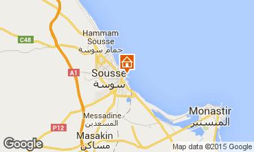 Karte Sousse Appartement 25792