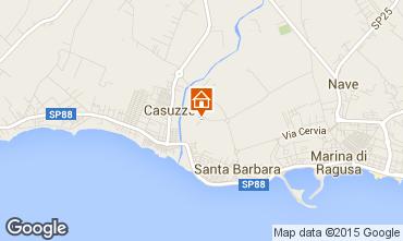 Karte Marina di Ragusa Appartement 35318