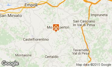 Karte Montespertoli Appartement 74504