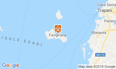 Karte Favignana Appartement 46408