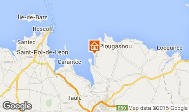 Karte Plougasnou Haus 53936