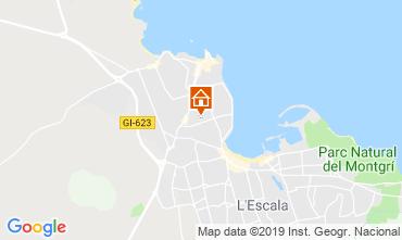 Karte L'Escala Appartement 24682