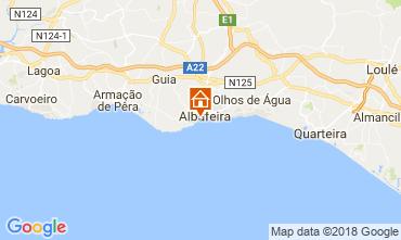 Karte Albufeira Villa 114694