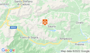 Karte Aprilia Marittima Chalet 71068