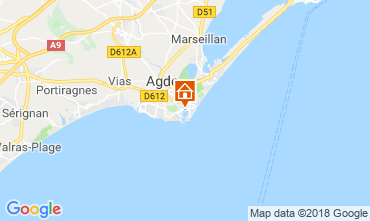 Karte Cap d'Agde Studio 117600