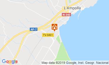 Karte L'Ampolla Haus 118389