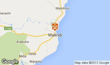 Karte Malindi Appartement 61174