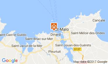 Karte Dinard Außergewöhnliche Unterkunft 111904