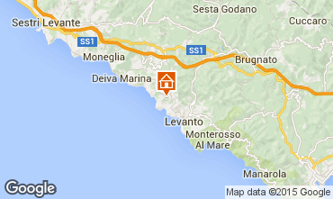 Karte Bonassola Haus 83335