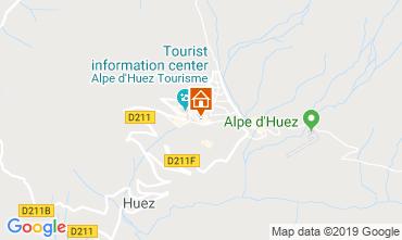 Karte Alpe d'Huez Studio 112804