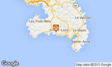Karte Sainte Luce Studio 69054