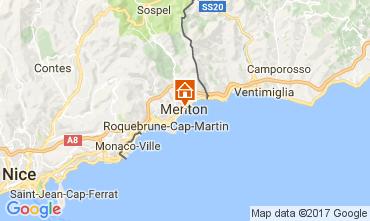 Karte Menton Appartement 107752