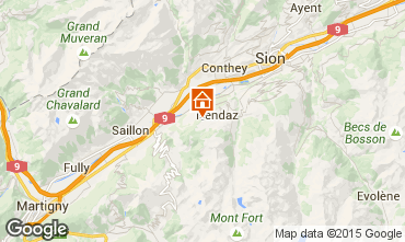 Karte Nendaz Chalet 4726