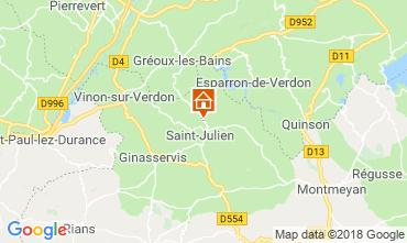 Karte Gréoux Les Bains Haus 93624