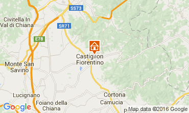 Karte Arezzo Villa 11865