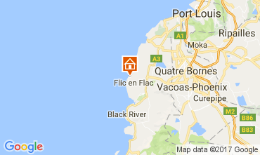 Karte Flic-en-Flac Appartement 111737