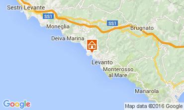 Karte Bonassola Appartement 21472