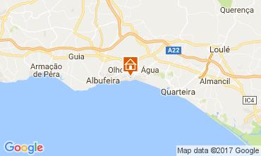 Karte Albufeira Villa 109214