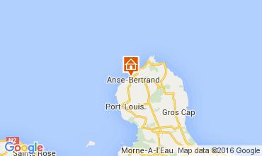 Karte Anse Bertrand Haus 106000