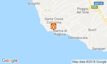 Karte Marina di Ragusa Appartement 81847