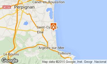 Karte Saint Cyprien Plage Appartement 93159