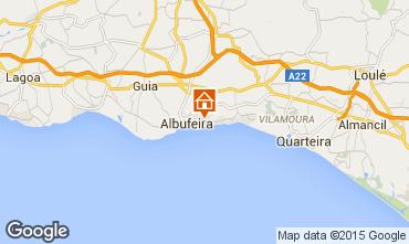 Karte Albufeira Appartement 96086