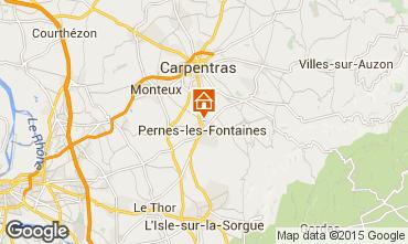 Karte Pernes les Fontaines Haus 94169