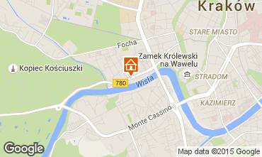 Karte Krakau Appartement 15059