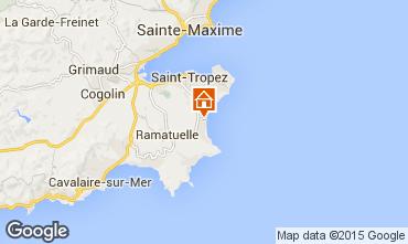 Karte Saint Tropez Haus 77071