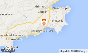 Karte Cavalaire-sur-Mer Villa 102507