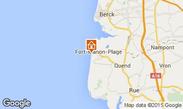 Karte Fort Mahon Haus 10870